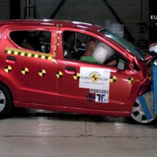 Euro NCAP: Högsta betyg till fem bilar