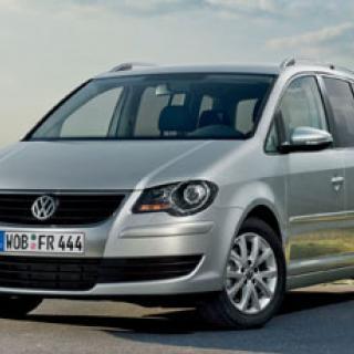 Volkswagen Touran fräschas upp