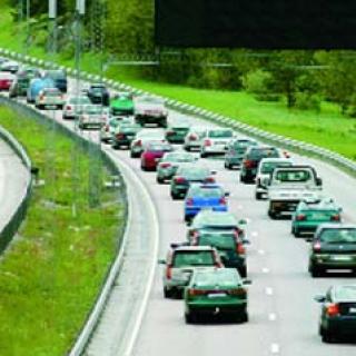 Dålig säkerhet vid vägarbeten