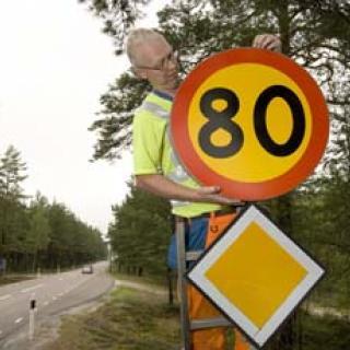 Bilister följer inte nya hastighetsgränser