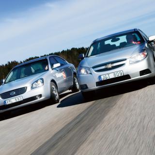 Biltest: Chevrolet Epica, Kia Magentis