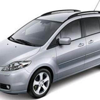 Ljustest: MAZDA 5 2,0 MZR-CD Touring (2006)