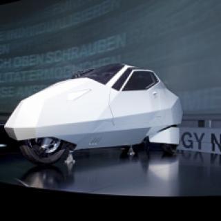 Amerikansk vision om framtidens stadsbil