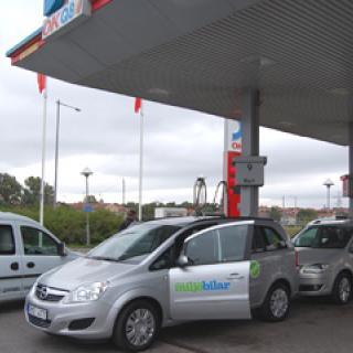 Stor ökning för gasbilar
