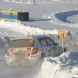 Hirvonen vann Svenska Rallyt