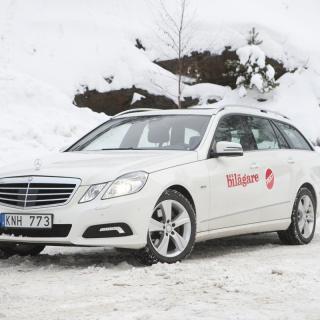 Biltest: Mercedes E-klass Kombi, Skoda Superb Combi
