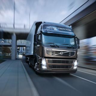 Framtidens lastbil är strömlinjeformad