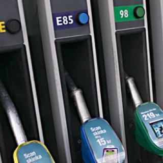 Begagnade etanolbilar lätta att hitta