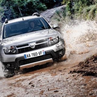Så klarar Dacia Duster terrängkörning