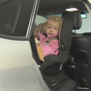 Taxiresa med barnstol kan kosta extra