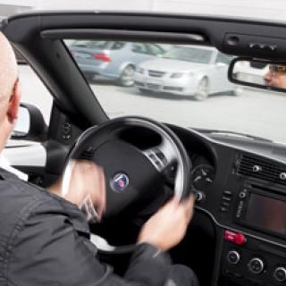 Volvo S60 krockade inför världspressen