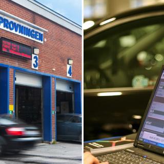 Muthärva på Bilprovningen i Malmö
