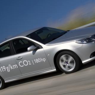 Saab 9-3 SportCombi får miljödiesel
