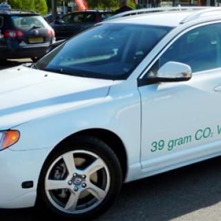Volvo V70 Bi Fuel får lägre lastgolv