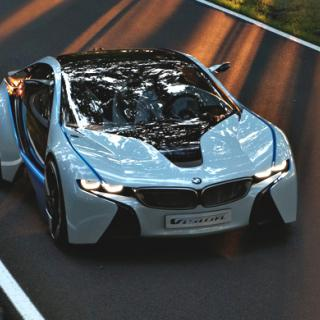BMW Vision ConnectedDrive – infobilen