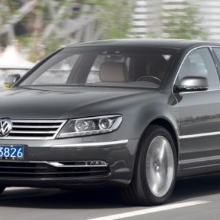 Biltest: Volkswagen Phaeton W12