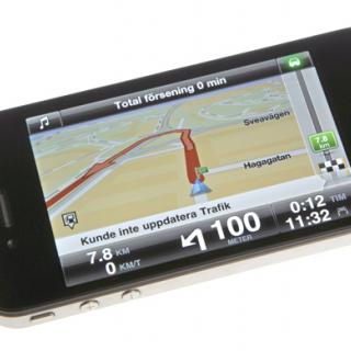 GPS-test: iPhone och lyxapparater