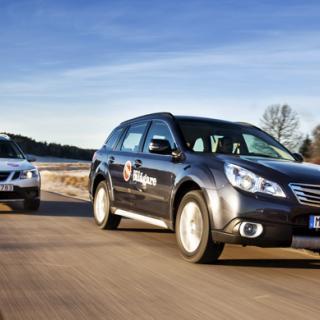 Subaru bygger gasbilar i Trollhättan