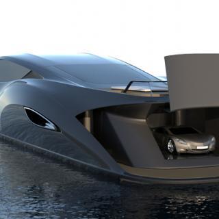 Limousine för soldränkta stränder