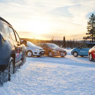 Långtest 2011: Volvo V60 i vintertest