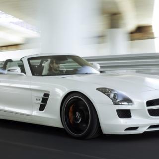 Provkörning: Mercedes SLS AMG