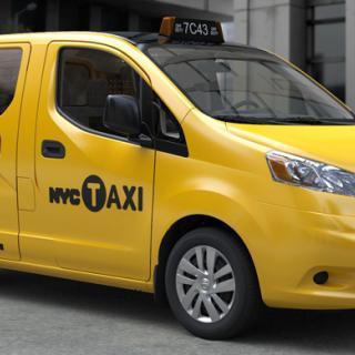 Nissan NV200 blir London-taxi