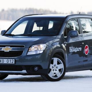 Biltest: Volkswagen Sharan, Ford S-Max, Chevrolet Orlando (2011)