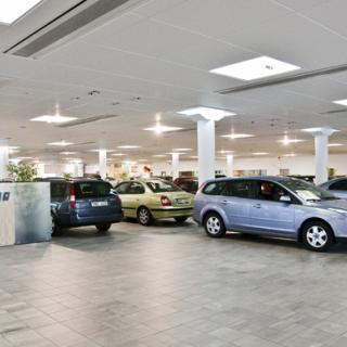 Bilåkandet i landet minskar