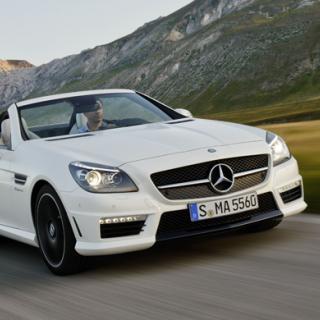 Provkörning: Mercedes SLK (2011)