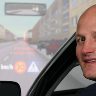 Saab utvecklar säkrare A-stolpe