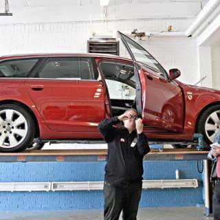 Dold rost hotar Audi – A6 drabbad