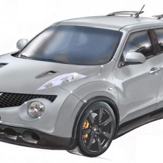 Nissan Juke-R – första bilden
