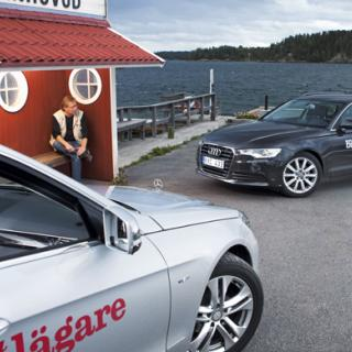 Ljustest: Audi A6 (2011)