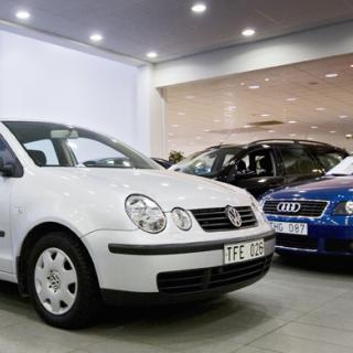 Sjätte bästa året för bilhandeln