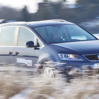 Provkörning: Seat Alhambra 4WD (2011)