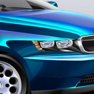 BMW iNext har en enorm skärm