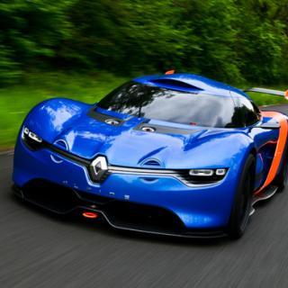 Renault och Caterham bygger Alpine