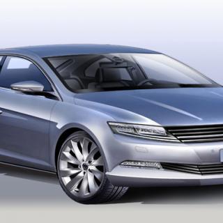 Nästa Ford Fiesta – första skissen