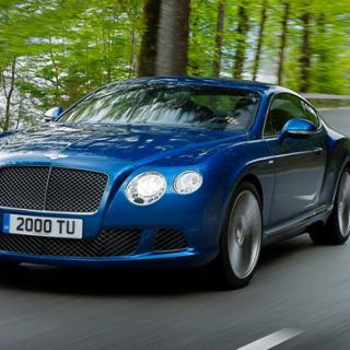 Snabbaste cabrioleten för fyra: Bentley Speed