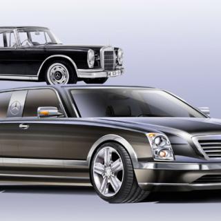 Mercedes 600 ombyggd till Maybach – för 33 miljoner