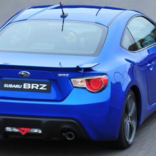 Subaru premiärvisar sportkupén BRZ