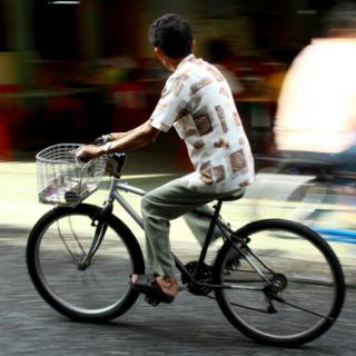 Tunga fordon förrädiska för cyklister