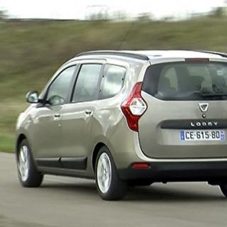 Provkörning: Dacia Lodgy (2012)