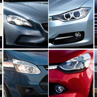 Euro NCAP: Säkraste bilarna 2013