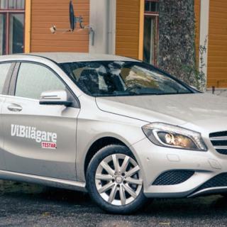 Biltest: Audi A3, Mercedes A-klass, Volvo V40 (2012)