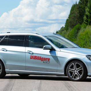 Biltest: Volvo V70, Audi A6 Avant, Mercedes E-klass Kombi, Jaguar XF Sportbrake, Skoda Superb (2013)