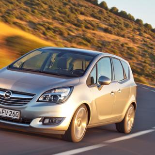 Rosttest: Opel Meriva Enjoy 1,6 (2003)