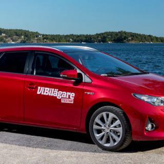 Biltest: Skoda Octavia Combi, Toyota Auris Sports Tourer, Volkswagen Golf Sportscombi (2013)
