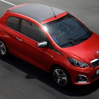 Nya Peugeot 108 – bilder och fakta