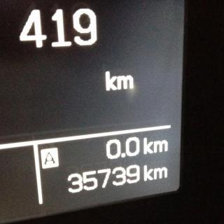 Det är inte långt kvar till 4 000 mil för långteststallets Suzuki SX4. Närmare bestämt 426,1 mil.